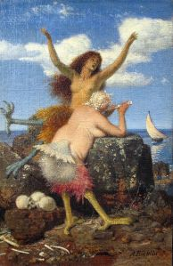 Arnold Böcklin (1827–1901), Sirènes, 1875, Alte Nationalgalerie, Berlin (Wikimedia Commons)