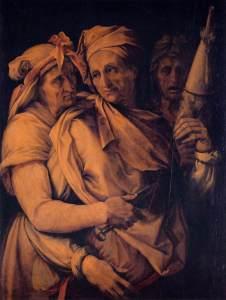 Francesco Salviati (1510–1563), Les trois Destinées, 1550, Palais Pitti (Wikimedia Commons)