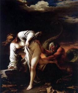 Salvatore Rosa (1615-1673), Glaucus et Scylla, Musée des Beaux-Arts de Caen