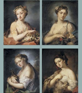 Rosalba Carriera (1675–1757), Les 4 saisons : l'automne  (Wikimedia Commons)