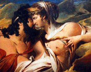Héra séduit Zeus.