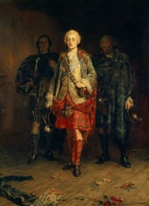 Bonnie Prince Charlie peint en 1898 par John Pettie