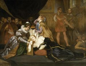 Abel de Pujol (1785-1861), La mort de Marie Stuart, 1587, Musée des Beaux-Arts, Valenciennes