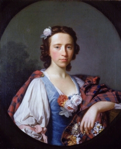 Allan Ramsay (1713–1784), Portrait of Flora Macdonald, 1749