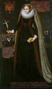 Portrait posthume de Marie Stuart commandé par l'une de ses femmes de compagnie, vers 1610-1640, Collection royale