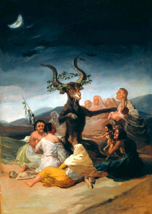 Francisco Goya (1746–1828), Le sabbat des sorcières,1797-1798