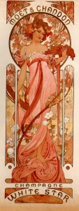 Alfons Mucha (1860–1939), Moët & Chandon White Star, 1899