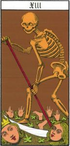 13 - Arcane sans nom (La Mort), Le Tarot d'Oswald Wirt
