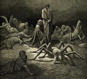 Gustave Doré, Illustration pour le Purgatoire de Dante (extrait)