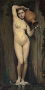 Jean Auguste Dominique Ingres (1780–1867), La Source, Musée d'Orsay, Paris