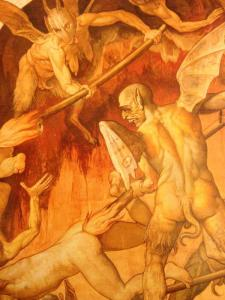 Giorgio Vasari (1511-1574), Jugement Dernier (extrait), Dôme de Milan