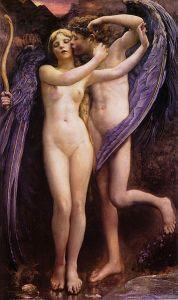 Annie Swynnerton (1844–1933), Cupidon et Psyché