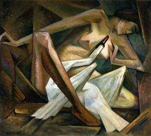 Jerzy Hulewicz, Léda et le cygne, 1928, Musée national de Varsovie