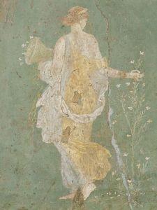 Flora, I ap. J.-C., fresque, Villa d'Arianne à Stabies, Musée d'archéologie de Naples