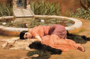 John William Godward (1861–1922), Dolce Far Niente, 1904