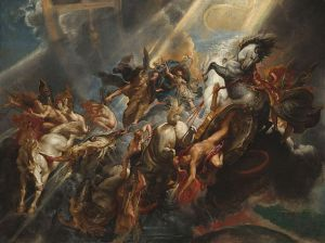 Peter Paul Rubens (1577–1640), La chute de Phaéton, vers 1608, National Gallery of Art
