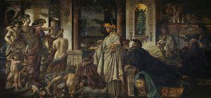 Anselm Feuerbach  (1829–1880), Le Banquet d'après Platon, vers 1871 - 1874