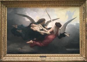 William Bouguereau (1825-1905), Une âme au ciel, 1878, Musée d'Art et d'Archéologie du Périgord