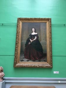 Karl Sohn (1805-1867), Portrait de Mme Alfred Magne, 1862, Musée d'Art et d'Archéologie du Périgord
