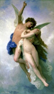 William Bouguereau (1825-1905), Psyché et l'Amour, 1889, Hobart (Tasmanie), Tasmanian Museum and Art Gallery