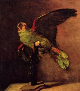 Vincent van Gogh, Le perroquet vert, 1886