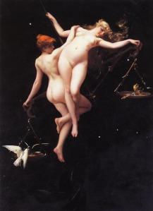 Luis Ricardo Falero (1851–1896), L'étoile double, 1881, The Metropolitan Museum of Art