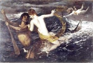 Arnold Böcklin  (1827–1901), Triton et Néréide, 1875