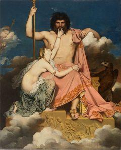 Jean Auguste Dominique Ingres  (1780–1867), Jupiter et Thétis, 1811