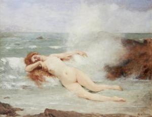Henri Gervex  (1852–1929), La Naissance de Vénus, 1863