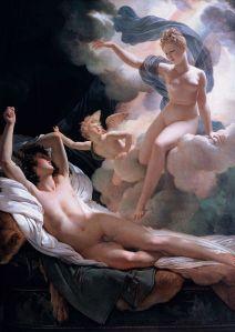 Pierre-Narcisse Guérin  (1774–1833), Morphée et Iris, 1811, Musée de l'Ermitage