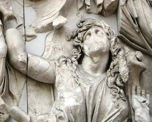 Gaïa (Gê), Grand autel de Pergame, Inselmuseum, Berlin