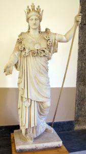 Athéna Farnèse, Copie de la statue d'Athéna par Phidias, Musée de Naples