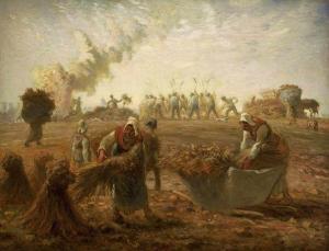 Jean-François Millet  (1814–1875), Récolte du sarrasin, entre 1868 et 1874, Musée des Beaux-Arts de Boston