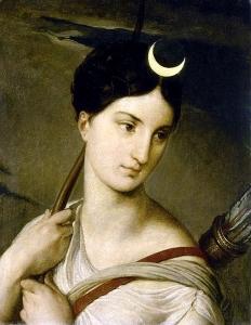 Francesco Hayez  (1791–1881), Artémis