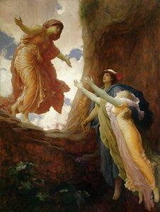 Frederic Leighton (1830–1896), Le retour de Perséphone, 1891