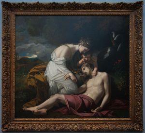 Benjamin West (1738–1820), Vénus pleurant la mort d'Adonis, 1768 (retouché en 1819), Carnegie Museum of Art