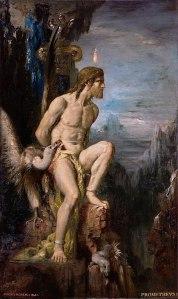 Gustave Moreau  (1826–1898), Prométhée, 1868
