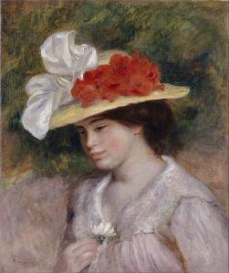 Auguste Renoir, Femme au chapeau, 1889