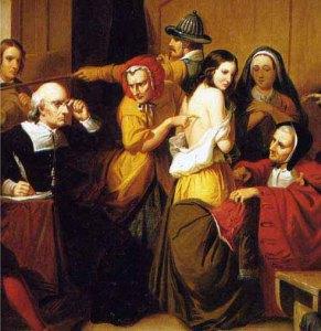 Т. Mattson, Interrogatoire d'une sorcière, 1853 (extrait)