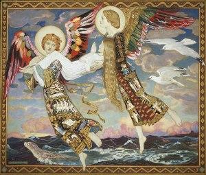 John Duncan (1866-1945), St. Bride, 1913