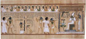 Le Livre des Morts, Papyrus de Hunefer (Wikimedia Commons)