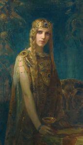 Gaston Bussière (1862–1928), Isolde: la princesse Celte, 1911, Musée des Ursulines, Mâcon